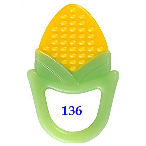 Iq Baby Silicone Teether Natural Bpa Free Motif-Gigitan Untuk Bayi