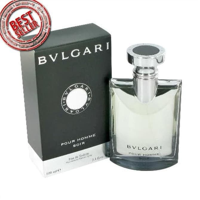 Jual Terlaris Parfum Pria Bvlgari Pour Homme Soir Cowok Import Kw