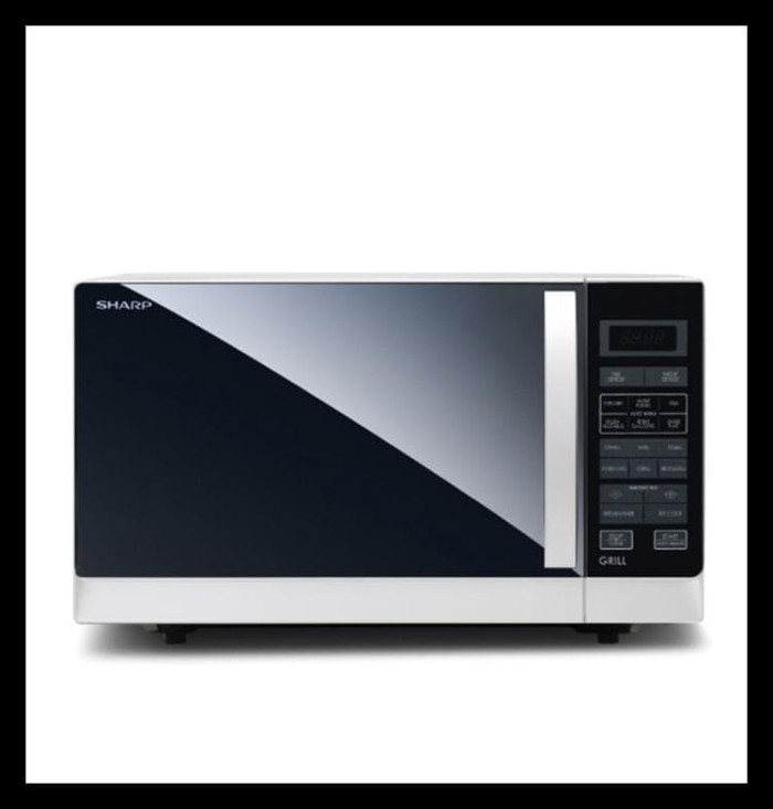 New Microwave Sharp R-728 (W)-In Compact Grill Terlengkap