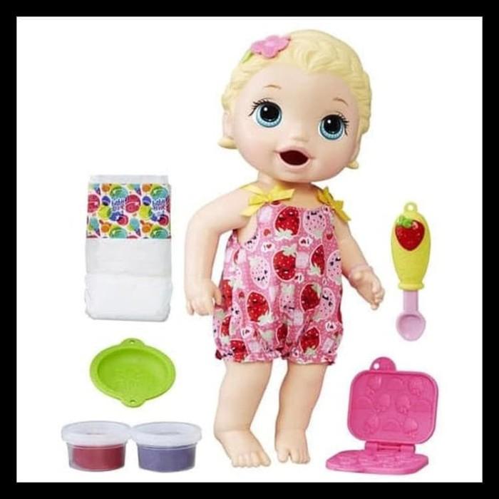 Jual New Boneka Baby Alive Snacking Lily Original Berkualitas ... 5b80aa4c27