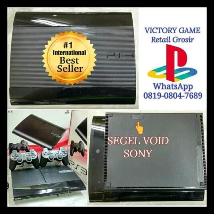 KOMPLIT PS3 PS 3 PLAYSTATION 3 SUPER SLIM 500GB OFW + FULL GAME +