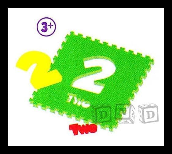 EKSLUSIF Karpet Puzzle Evamat / Angka Polos / Matras / Tikar Alas