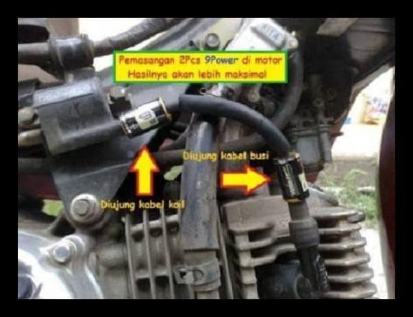 Obral 9Power 9 Power Booster Penguat Arus Penghemat Bbm Motor & Mobil.