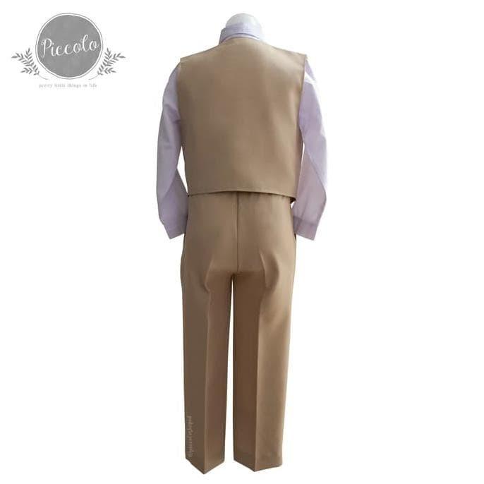 Foto Produk George Setelan Rompi Jas Tuxedo Anak Laki Dan Bayi Baju Pesta - Size 1 dari abdul viena