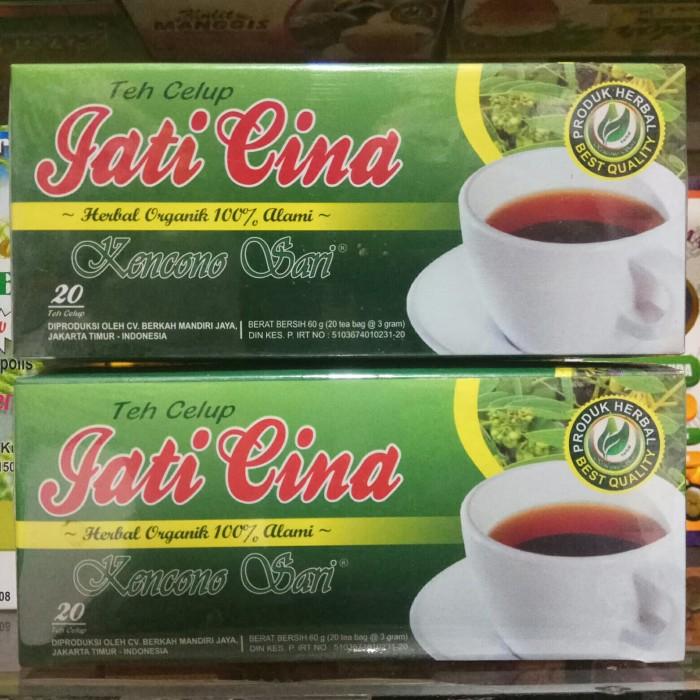 Foto Produk Teh Daun Jati Cina Teh Celup Jati Cina dari harga grosir 01