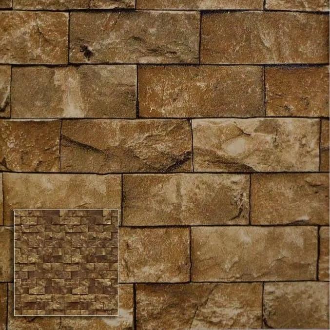 Jual Wallpaper Dinding Batu Alam Bukan Sticker Wallpaper Motif Batu Ss36 Jakarta Barat Istana Onlineshop Tokopedia