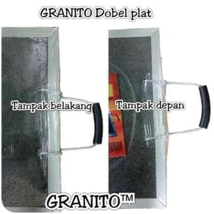 Batu Bakar Granito / Alat Panggang Batu Bakar Granito 2 List Double