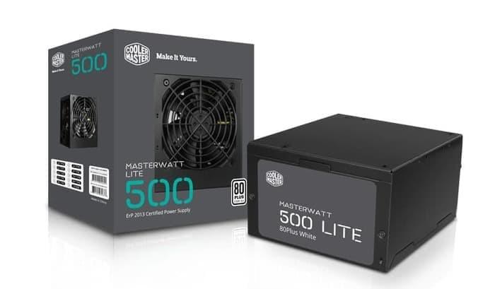 Foto Produk Power Supply COOLER MASTER MasterWatt Lite 500W Sleeve dari daftar harga komputer