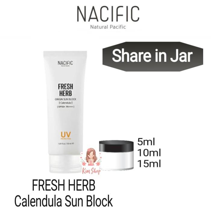 Share in Jar 3ml NACIFIC FRESH HERB ORIGIN SUN BLOCK SPF50+ PA++++
