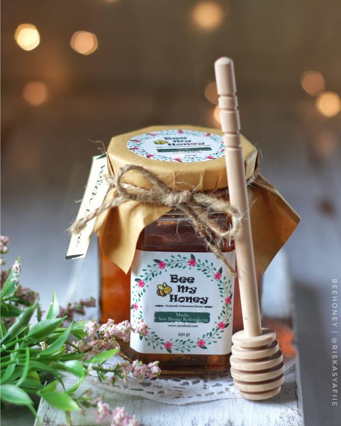 harga Madu asli murah bee my honey 100% murni sari buah kelengkeng isi 500ml Tokopedia.com