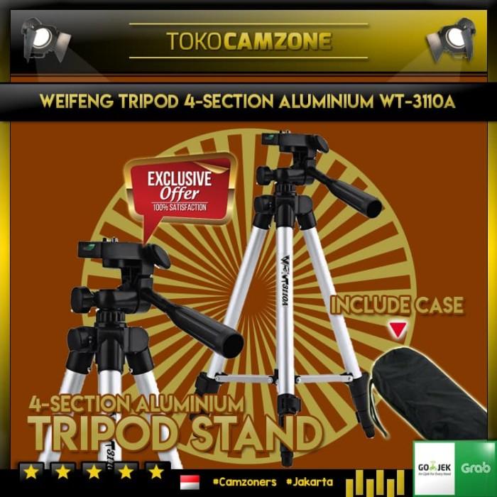 harga Tripod weifeng/teifeng wt3110a for camdig handycam dslr + holder u Tokopedia.com