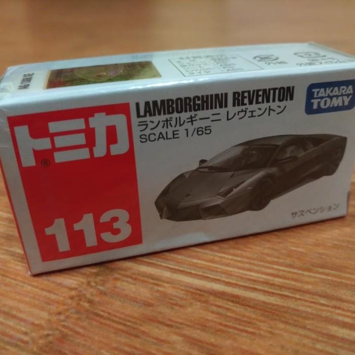 Foto Produk Diecast Miniatur Tomica Lamborghini Reventon Grey Japan Kondisi Segel dari Hotwheels_bali