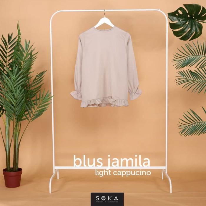 Foto Produk Blus Jamila - Light Cappucino dari SOKAcraft