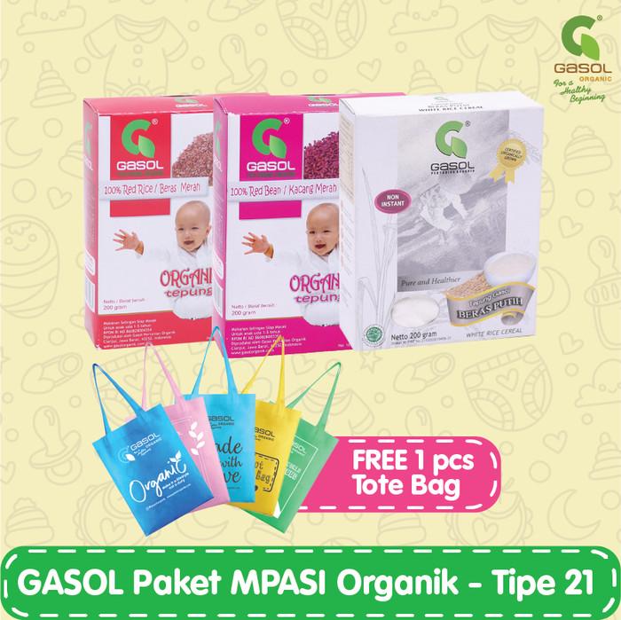 harga Gasol paket mpasi organik - tipe 21 Tokopedia.com
