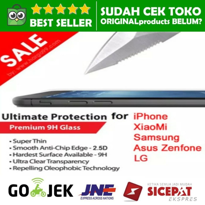 harga Tempered glass anti gores kaca xiaomi mi4i redmi note xiaomi mi3 1s Tokopedia.com
