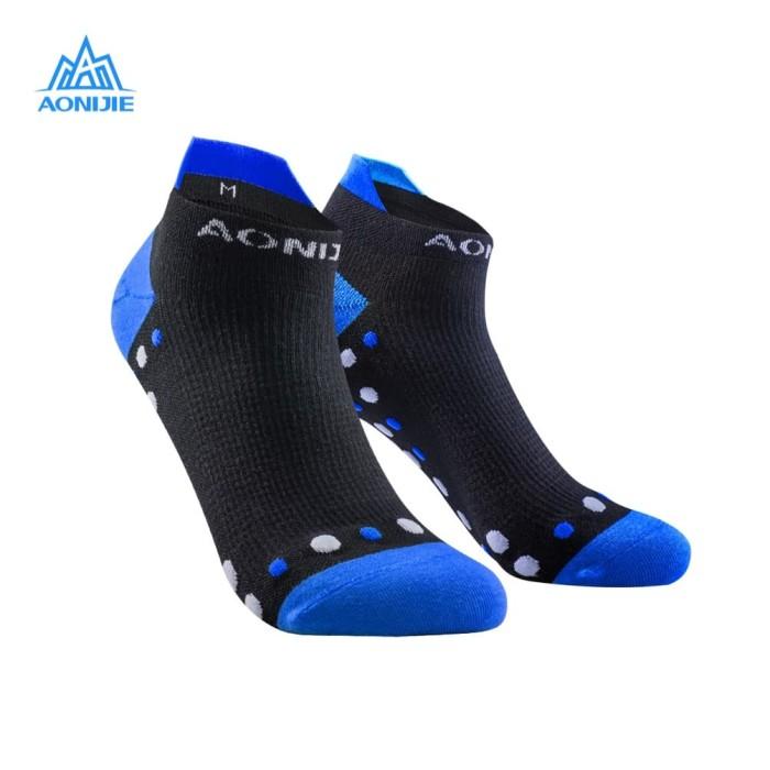 harga Aonijie e4081 running socks - kaos kaki lari sepeda outdoor- blue Tokopedia.com