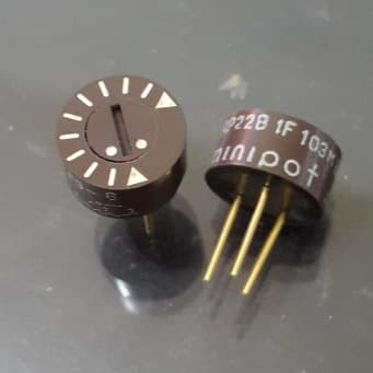 Foto Produk authentic trimmer japan 10kohm (pwm) 12.8mm dari versus box mod supply