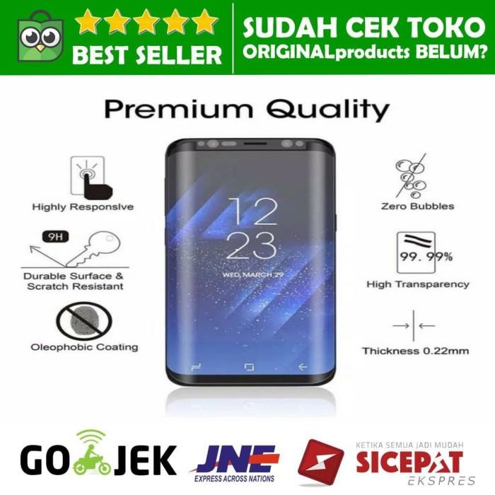 Jual SAMSUNG GALAXY S9 PLUS + Tempered Glass Anti Gores FULL COVER LCD 4D -  Jakarta Pusat - ORIGINALproducts | Tokopedia