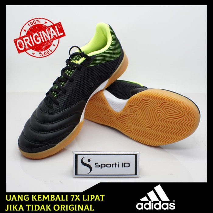 87a46c7e6 Jual Sepatu Futsal Adidas Copa 19.3 IN Sala Black Yellow BB8093 ...
