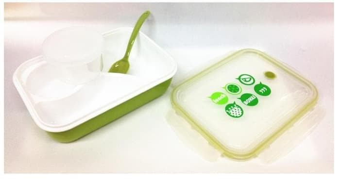 Paling Murah Lunch Box / Kotak Makan Sup Yooyee 4 Sekat / Bento /