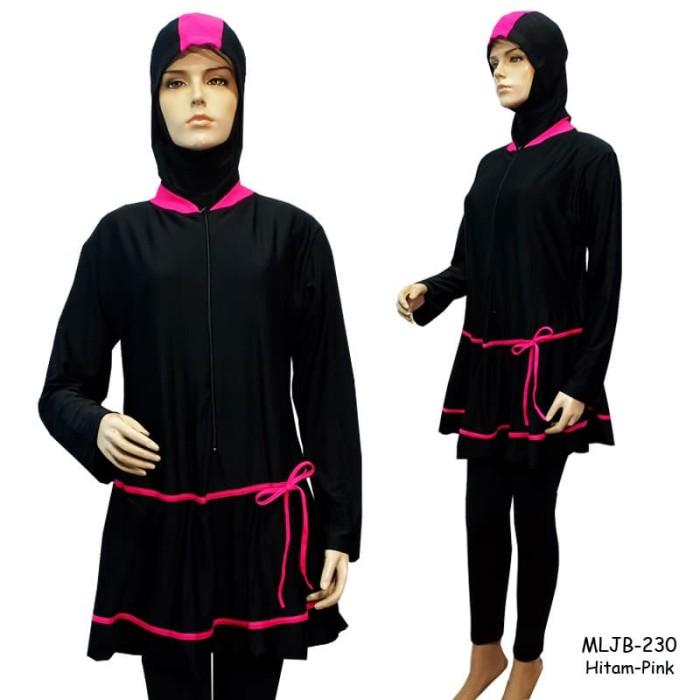 Baju Renang Muslim Jumbo Polos Premium 7L MLJB-230