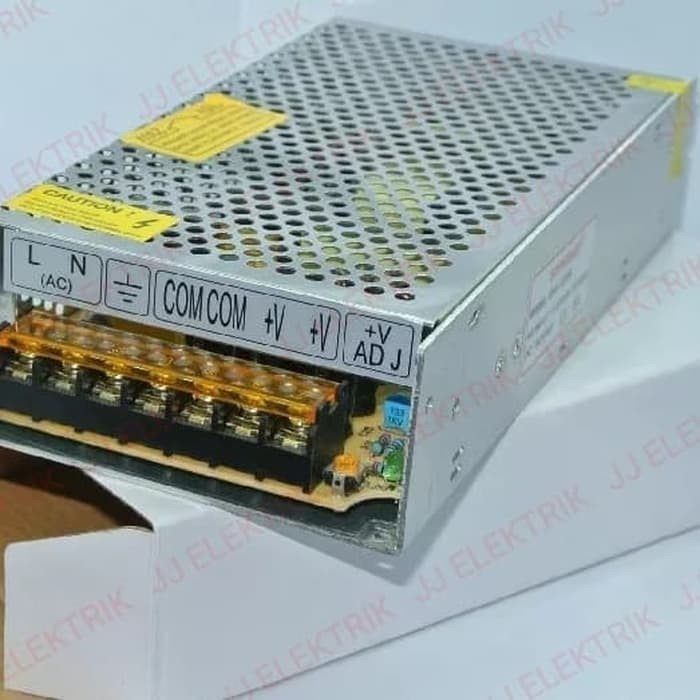 Foto Produk Power Supply Adaptor 12V 12 Volt 10 Ampere / Trafo 10A 120 Watt dari JJELEKTRIK