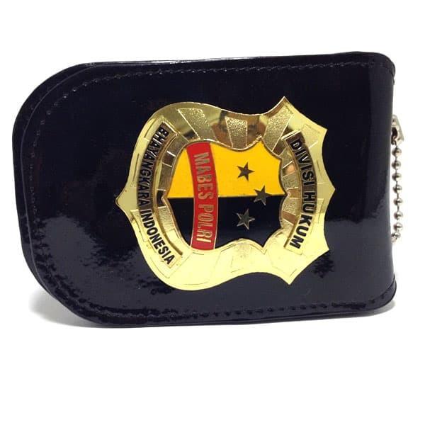 Mabes Polri Divisi Hukum Id Card Holder - Id Card Case - Tempat Kartu