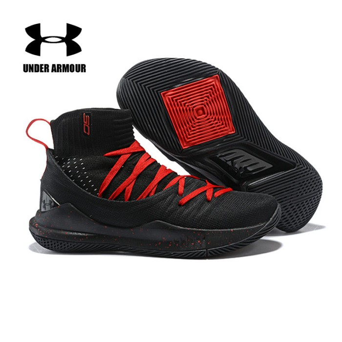 fe00272cbc76 Under Armour Basketball Shoes Curry 5 sock Sneakers tenis basketball