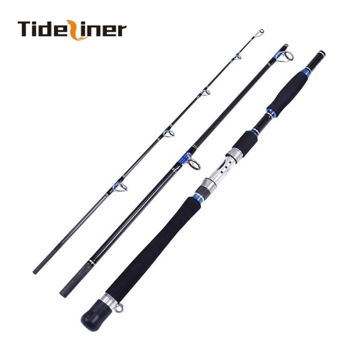 hard glass fiber telescopic fishing rod sea travel spinning pole fishing tool PQ