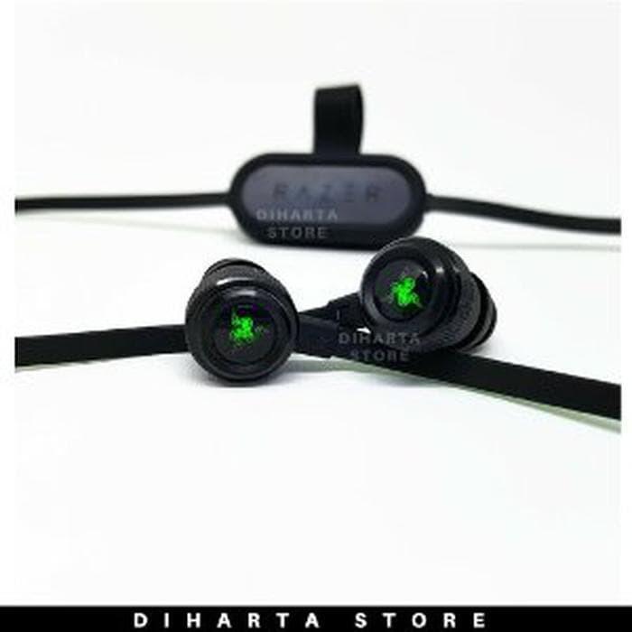 64cb99c45aa Jual Headset Bluetooth Gaming Razer Hammerhead BT LED Earphone Head ...