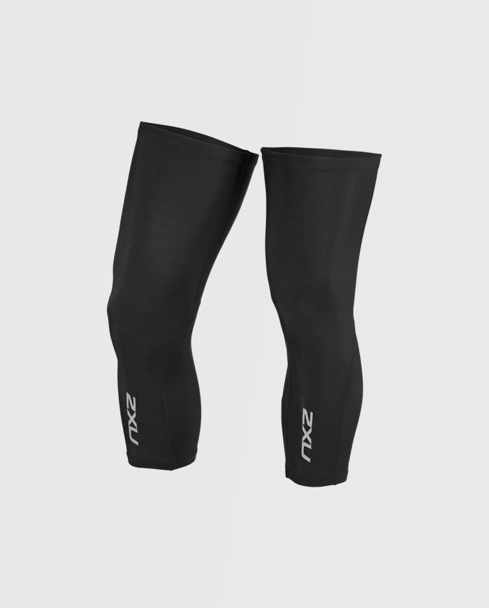 harga 2xu unisex cycle knee warmers [uc4915b blk/blk] Tokopedia.com