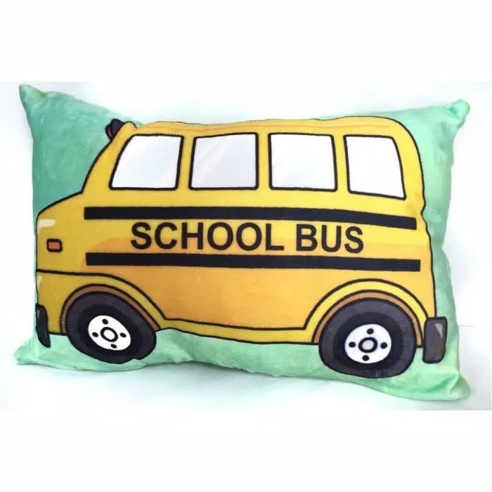 harga Bless toys bantal gambar kendaraan school bus Tokopedia.com