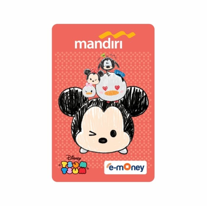 Foto Produk MANDIRI E-MONEY SPECIAL EDITION Disney Tsum Tsum Mickey dari Mandiri E-Store