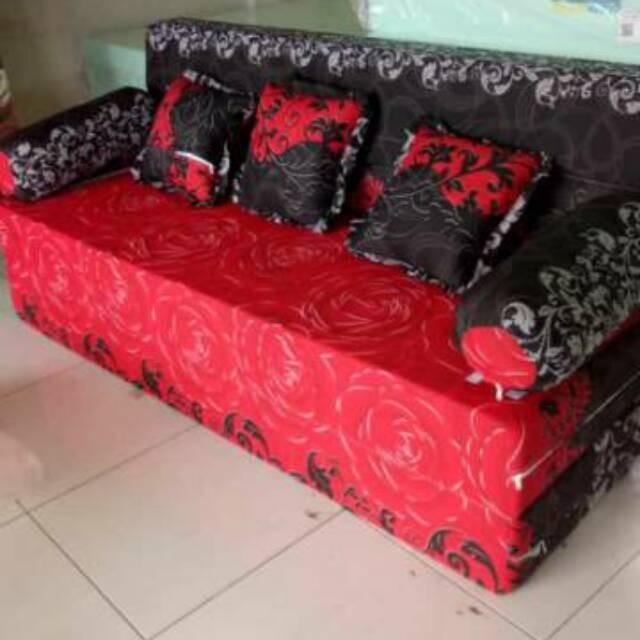 Jual Aj03 Sofa Bed Busa Inoac Asli Murah Ukuran 200 X 160 X 15 Jakarta Barat Anugrah 69 Tokopedia