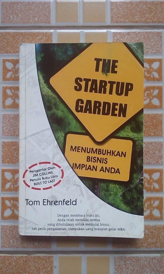 Jual The Startup Garden Oleh Tom Ehrenfeld Kota Depok DELANI BOOKSTORE