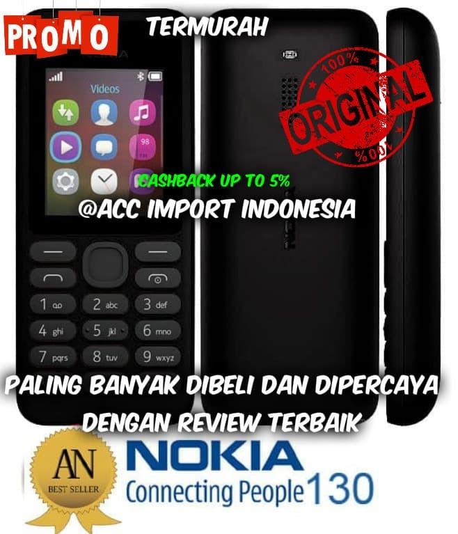 Promo hp jadul nokia 130 dual sim handphone hp garansi ...