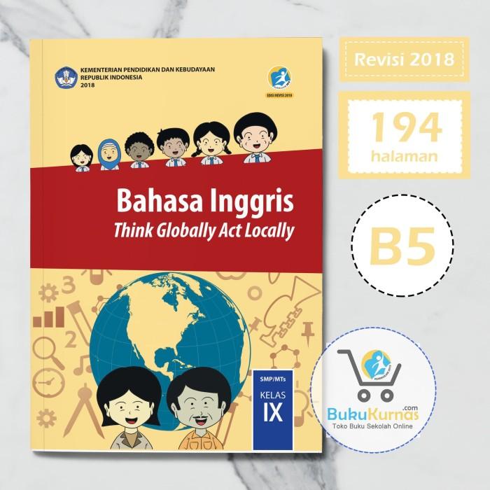 Buku Bahasa Inggris SMP Kelas 9 K13 Revisi 2018