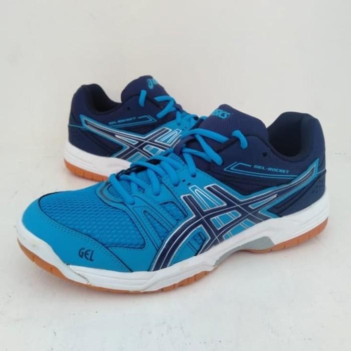 Jual Sepatu Badminton Dan Voli Ball Asics Gel Rocket Original