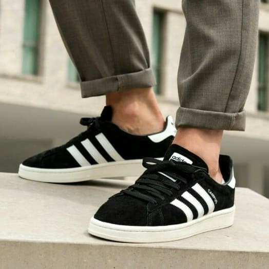 exclusive range many styles amazon Jual Adidas Campus Black White ORIGINAL Sneaker for Men, 40 2/3 - Jakarta  Selatan - Rikedom STORE | Tokopedia