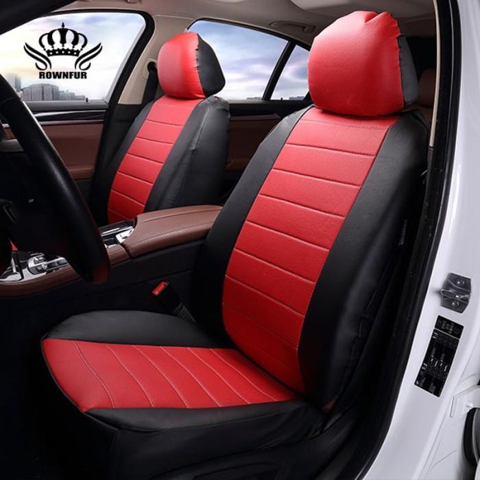 Jual Luxury Pu Leather Auto Universal 4 Color Car Seat Cover Kota Surabaya Cuan Mall Tokopedia