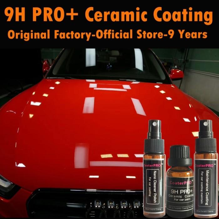 Car Paint Store >> Jual Coaterpro 9h Pro Professional Nano Coating Liquid For Car Paint Kota Surabaya Darling Mall Tokopedia