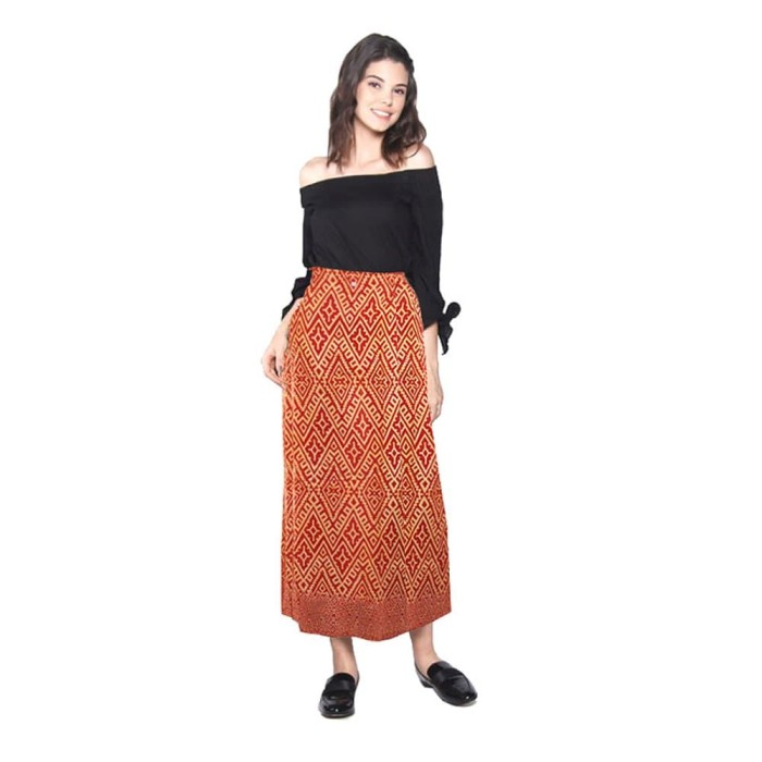 Rok Batik Motif Rang Rang