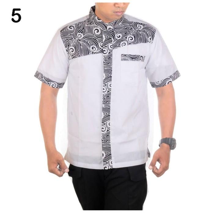 Hem Koko Batik Katun Kombinasi