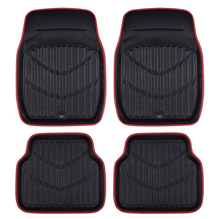 Car Floor Mats >> Jual Car Pass Universal Car Floor Mats For Auto Anti Slip Mat Red Black Kota Surabaya Ventura Mart Tokopedia