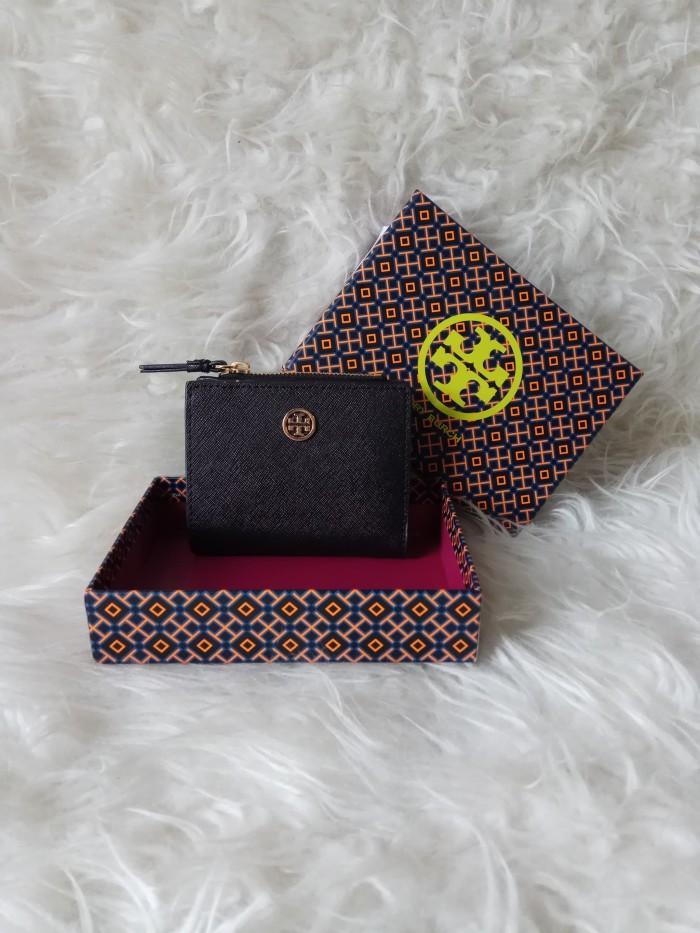 82ceda846c7 Jual Tory Burch Robinson Mini Wallet - Black - DKI Jakarta - VVIP ...