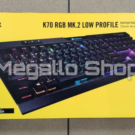 0ee4c0c6aea Corsair K70 RGB MK.2 Low Profile Gaming Keyboard Garansi Resmi 2 Tahun