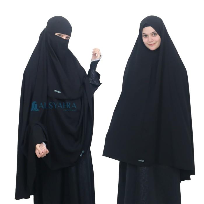 Jual Xxl Alsyahra Hijab Syari Long Khimar Cadar Bandana Kcbw01 Kab Sukabumi Khilafah Apparel Tokopedia
