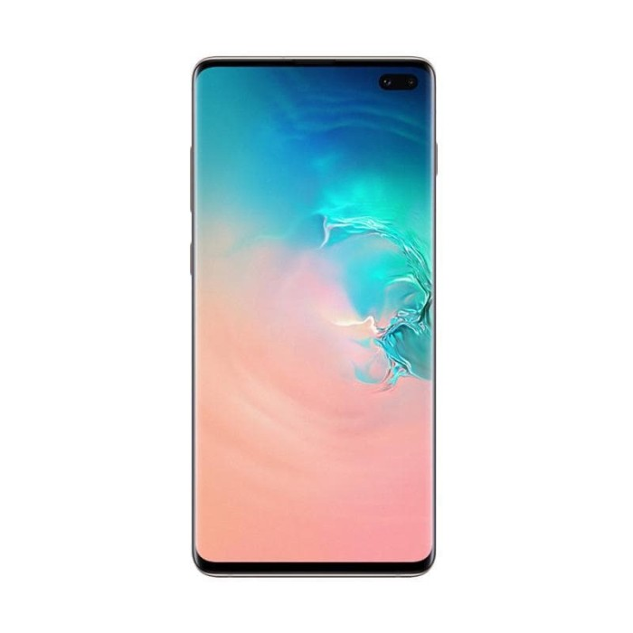 Samsung galaxy s10+ smartphone [128 gb/ 8 gb] - hijau tosca