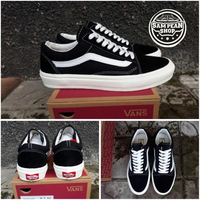 Jual Sepatu Vans OLD SKOOL OG Black white ORIGINAL PREMIUM IMPORT BNIB Kota Bandung Sampean shop | Tokopedia