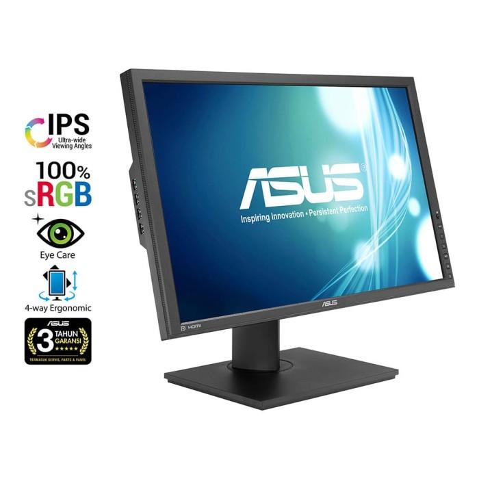 "harga Monitor asus pb248q professional 24.1"" full hd ips srgb eye care Tokopedia.com"